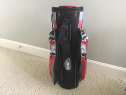 Callaway Golf Bag Cart Gray Red White ORG 14L  Dividers 10 Z