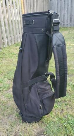 KNIGHT Golf Bag☆ Cart/Lightweight☆ Black☆3 Way☆5 Poc