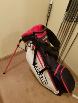 Titleist golf bag stand/carry new other Red, White & Blue pl