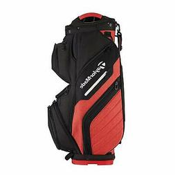 TaylorMade Golf Bag Supreme Cart Black/Red - New 2018