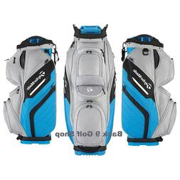 TaylorMade Golf Bag Supreme Cart Gray/Blue - New 2018