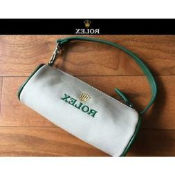 ROLEX Golf Ball Pouch Bag Beige VIP Gift New