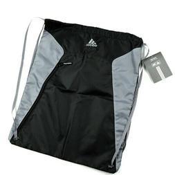 ADIDAS Golf Black and Grey Drawstring Travel Shoe Bag NWT