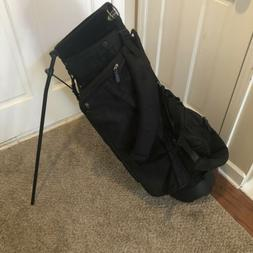 Knight Golf Black Stand Golf Bag 4 Way Carry Bag Insulated P
