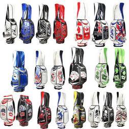 Golf Cart Bag Waterproof Embroidery Pattern Golf Accessories