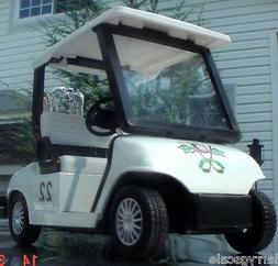 Golf Cart Miniature w Golf Bags 1/24 Scale G Scale Diorama A