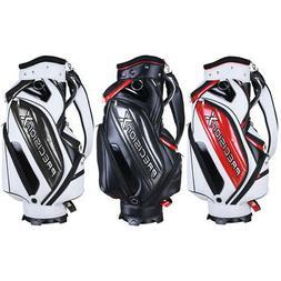 Golf Cart Staff Bag 9 Pockets 5 way-Full Length Divider Orga
