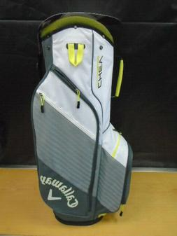 Callaway Golf Chev Cart Bag 14 Way Top NEW Gray/Green