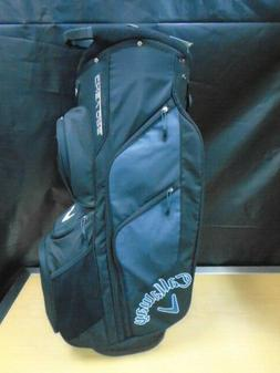 Callaway Golf Chev Org Cart Bag 14 Way Top NEW Black