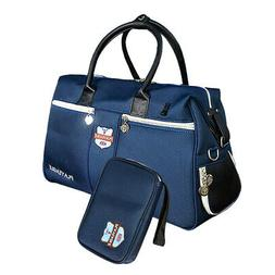 Golf Clothing Boston Bag with Separate Shoes Storage Area &