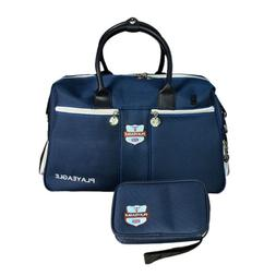 Golf Clothing Storage Boston Bag w/ Separate Shoes Area & Ma