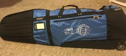 Sun Mountain Golf Club Glider Pro Travel Bag with Wheels ~ F