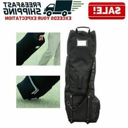Golf Club Travel Bag Cover Protector Guard Carry Rolling Whe
