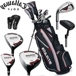 Golf Complete Set New Men Club 12-Piece Left Right Handed Ca