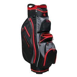 Orlimar Golf CRX Cooler Cart Bag - Black/Red/Charcoal - NEW!