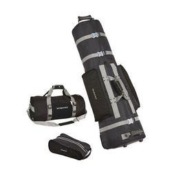 Samsonite Golf Deluxe 3 Piece Travel Set w/ Cover, Shoe Bag