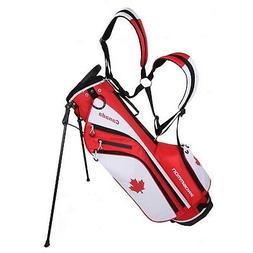 "Prosimmon Golf DRK 7"" Lightweight Golf Stand Bag with Dual S"