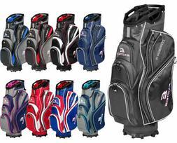 Tour Edge Golf Exotics Xtreme 4 Cart Bag - RED/WHITE