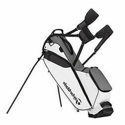 TaylorMade Golf FlexTech Lite Stand Bag 2018 - Gray/White