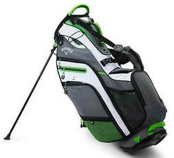 Callaway Golf Fusion 14 Epic Flash Stand Bag White/Green/Gre