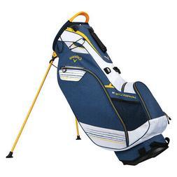 Callaway Golf Hyper-Lite 3 Double Strap Stand Bag,  Brand Ne