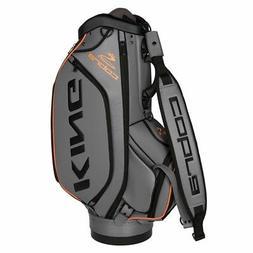 Cobra Golf King Staff Bag 2018 Nardo Grey Black Orange Style