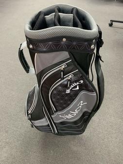 golf ladies solaire cart bag gray black