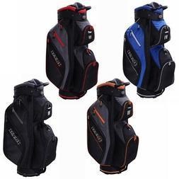 Ram Golf Lightweight Cart Bag with 14 Way Dividers Top