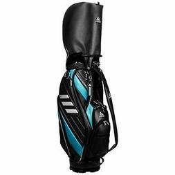 adidas Golf Men's Caddy Bag Three Bar 9.5 x 47 inch 3.2kg Bl