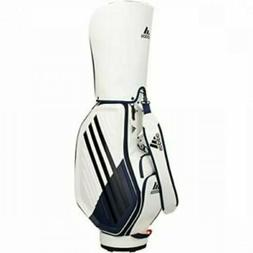 adidas Golf Men's Cart Caddy Bag 9.5 x 47 inch 3.9kg White O