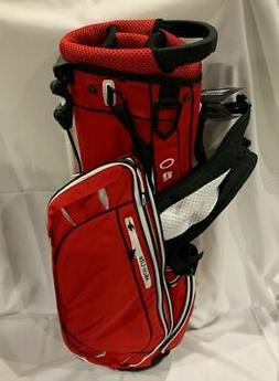 TaylorMade Golf MicroLite Carry Stand Bag - Red