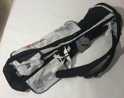 PING Golf MOONLITE Sunday, Range Bag Lightweight White, Blac