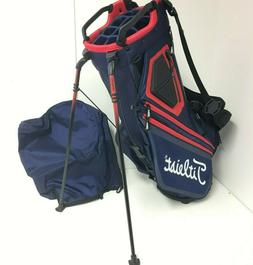 Titleist Golf Players 14 Stand Carry Golf Bag - Navy Blue /
