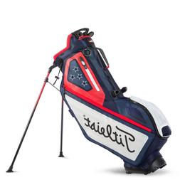 Titleist Golf Players 4 Way Stand Bag USA Flag Navy/White/Re