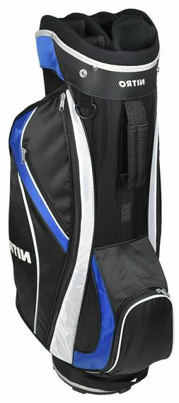 Nitro Golf Nitro Pro Golf Bag Royal Blue & Black New with Ta