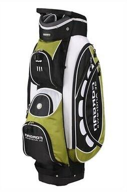 FORGAN GOLF PRO ll 14 WAY DIVIDER GOLF CART BAG - GREEN