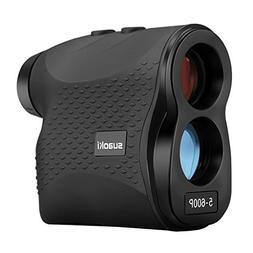 SUAOKI Golf Range Finder Laser Rangefinder 656 Yards/600 Met