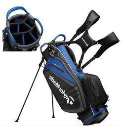 TaylorMade Golf Select Stand Bag Black/Blue 2019 Free Shippi