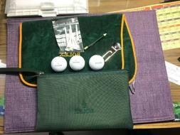 Rolex Golf set:Waterproof travel bag ;3 golf balls & tow