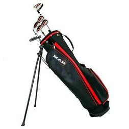 Ram Golf SGS Mens Golf Clubs Starter Set with Stand Bag - St
