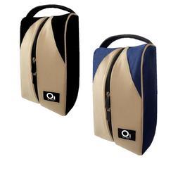 Golf Shoe Bag Men Women Deluxe Canvas Big Size Pack Set Fing