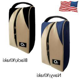 Golf Shoes Bag Zipped Sports Bag Shoe Case Lightweight Handl