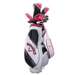 Callaway Golf Solaire Ladies Golf Club w/Caddie Bag Set 2018