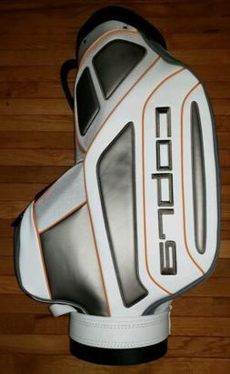 COBRA Golf Staff Bag Orange/White/Gray Rare FREE SHIPPING