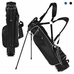 Tangkula Golf Stand Bag Lightweight Organized Golf Bag Easy