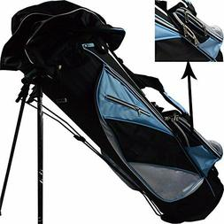 Golf Stand Bag Rack Ultraportability Men Women Pockets Large