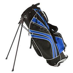 Tangkula Golf Stand Bag w/6 Way Divider Carry Organizer Pock