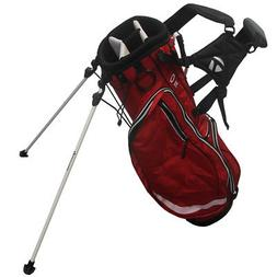 TaylorMade Golf Team Stand Bag,  Red/Black