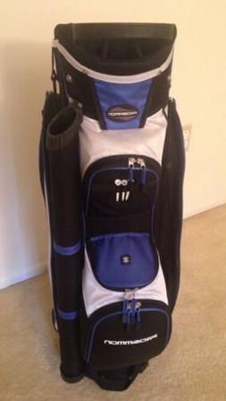 Prosimmon Golf Tour 14 Divider Cart Golf Bag Black/Blue