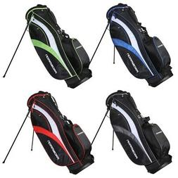 Prosimmon Golf Tour Mens Dual Strap Stand Carry Golf Bag